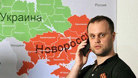 Лидер партии Новороссия Павел Губарев обратился к Президенту России Владимиру Путину