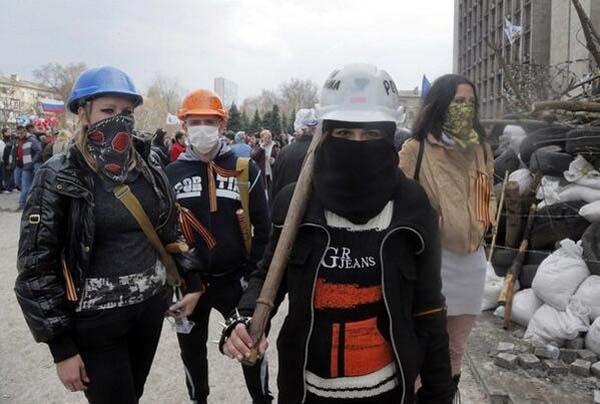 Малороссия - Новороссия - прекрасные юные защитницы Донецкой ОГА - Донецкая Народная Федеративная Республика